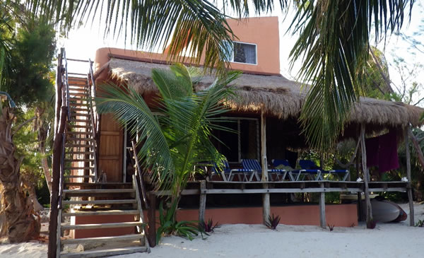Casita Dragonfly Vacation Rental House In Mahahual Costa Maya Quintana Roo Mexico